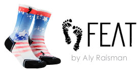 Aly Raisman Socks