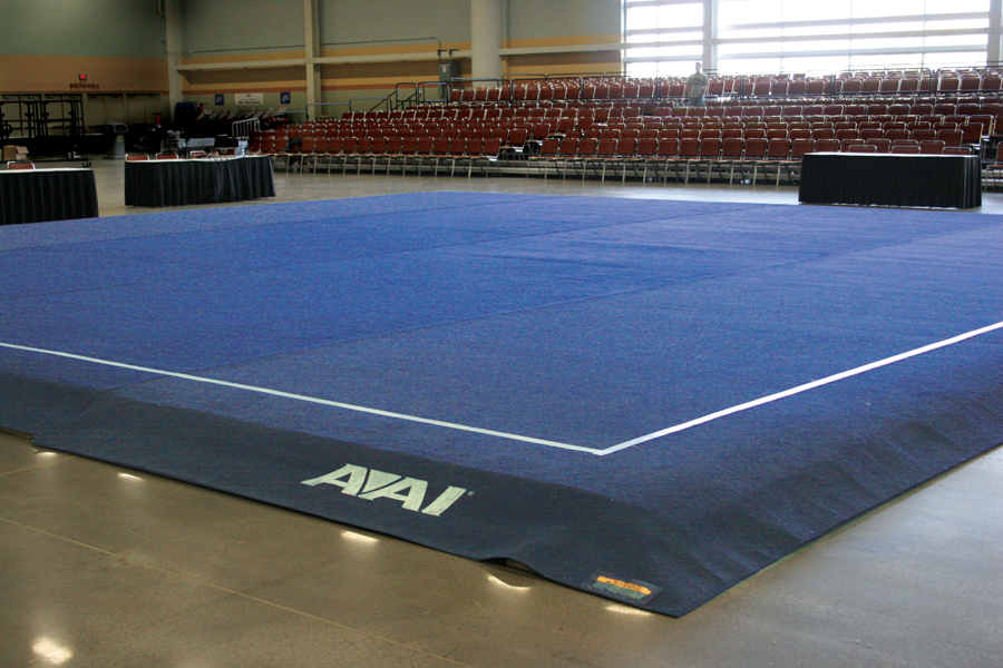 American elite artistic floor exercise system for Floor gymnastics