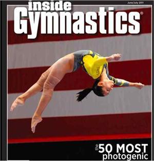 Inside Gymnastics Magazine Names Olivia Dunne to the 50
