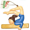 Gymnastics Ornament