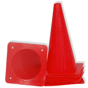 "12"" Game Cone Set of 6"