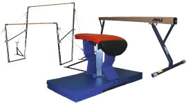 Women's Gymnastics Equipment