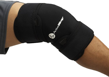Knee Support: Ice + Heat Wrap