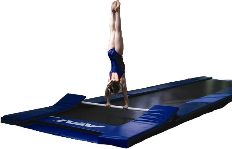 gymnastics trampoline rails aai. Black Bedroom Furniture Sets. Home Design Ideas