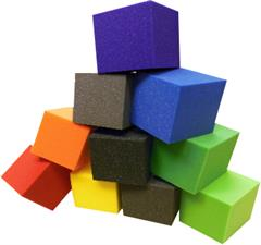 pit foam high quality foam cubes