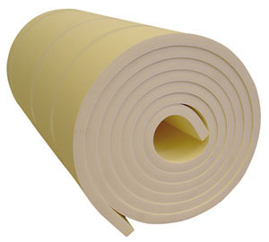"(Foam Only) Trocellen Foam 1 3/8"" Thick, 6'x42'"