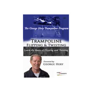 Trampoline Flipping and Twisting DVD
